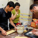 Ivo's home-made pasta cooking lesson