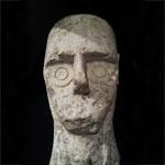 stone head of Cabras Montiprama Giganti