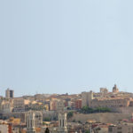 Cagliari skyline from the port